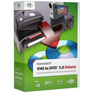 Honest Technology VHS To DVD 5.0 Deluxe Software
