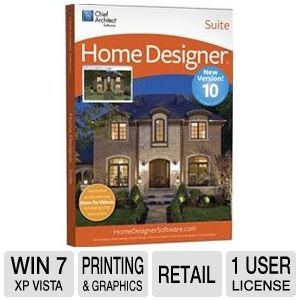 Chief Architect Home Designer Suite 10 Software 