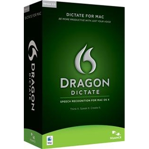 Nuance Dragon Dictate 2.0 Software