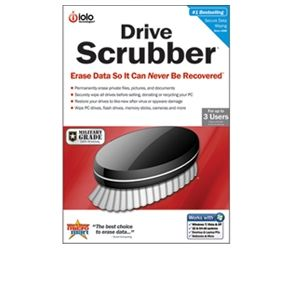 iolo technologies DriveScrubber Software