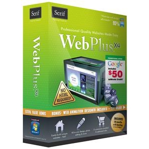 Serif WEBPLUS X4 Software