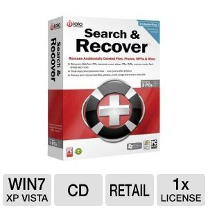 Iolo Search and Recover 5 Backup Software 