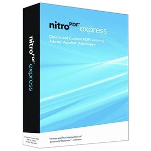 Nitro PDF Express V2 Software