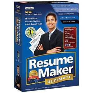 Individual ResumeMaker Ultimate 5 Software