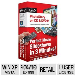 Magix Photostory On CD & DVD 9 Software