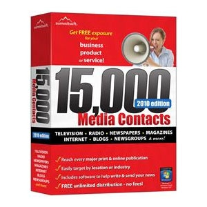 Summitsoft 15,000 Media Contacts Software