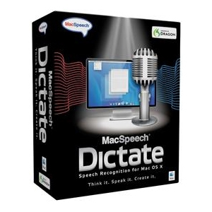 Nuance MacSpeech Dictate Software