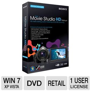 Sony Vegas Movie Studio HD Plat.10  Suite