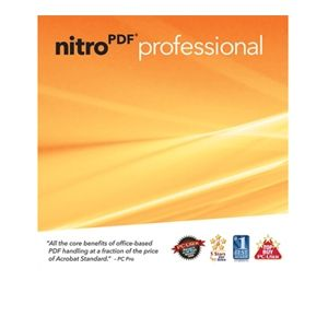 Nitro PDF Professional V6 Software