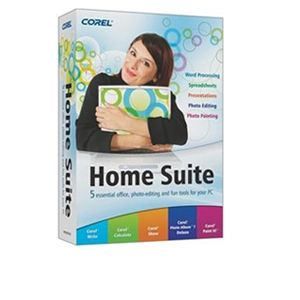 Corel Home Suite En Mini-Box Software