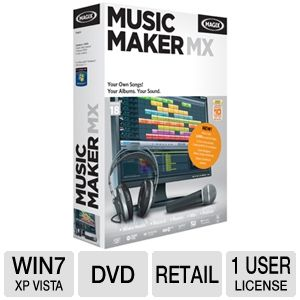 Magix Music Maker MX Software