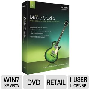 Sony Acid Music Studio 8 Software