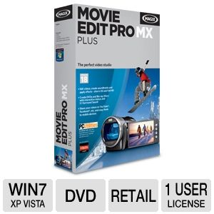 Magix 8086840 Movie Edit Pro MX Plus Software