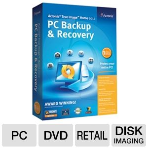 Acronis 8086646 True Image Home 2012 Software