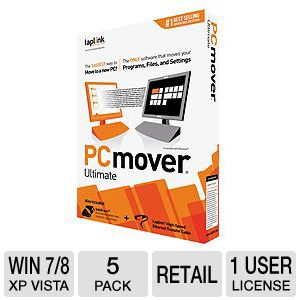 Laplink PCMover Ultimate Software