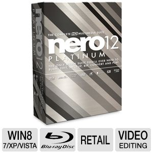 Nero 12 Platinum Software