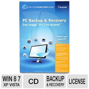 Acronis True Image 2013 Software