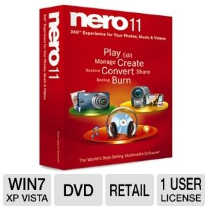 Nero 11 Multimedia Software