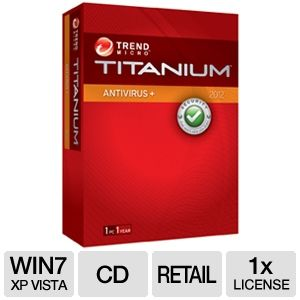 Trend Micro Titanium Antivirus + 2012 Software