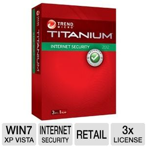 Trend Micro Titanium Internet Security Software