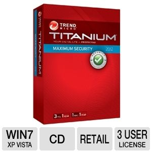 Trend Micro Titanium Maximum Security Software