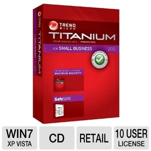 Trend Micro Titanium Security Software