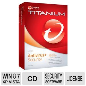 Trend MicroTitanium Antivirus + 2013 Software