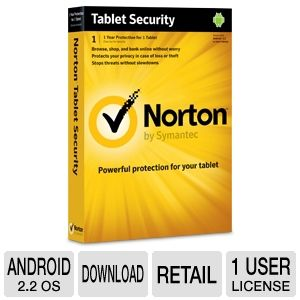 Norton Tablet Security Software