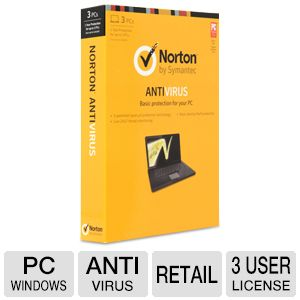 Symantec Norton Anti-Virus 2013 Antivirus License