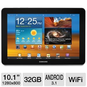 "Samsung 10.1"" 32GB Android 3.1 Tablet"