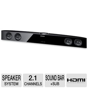 Samsung AudioBar 2.1Ch Soundbar &amp; Built-in Woofer 