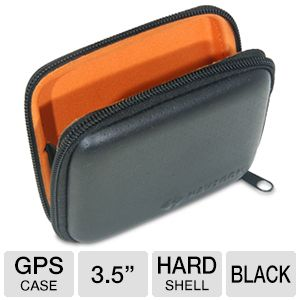 Navigon 3.5&quot; Black Hard Shell GPS Case