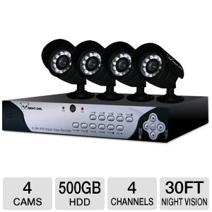 Night Owl Refurbished Security Camera System 