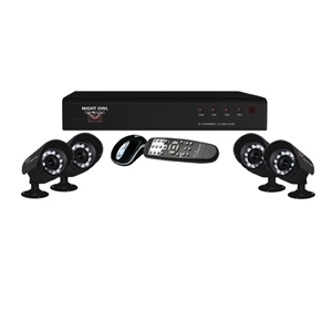 Night Owl NONB-84500 DVR & Camera Security System