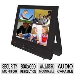 "Night Owl NO-8LCD 8"" LCD Security Monitor"