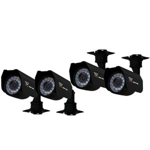 NIGHT OWL Wired Color Security Cameras - 4 Pack