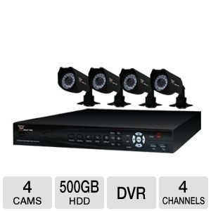 Night Owl 4-Channel 4 Camera Video Security Kit