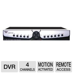 Night Owl 4-CH Network DVR