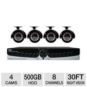 Night Owl 8-CH 500GB Security System 
