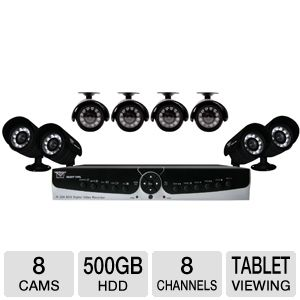 Night Owl 8-CH 500GB 8-Camera Security System