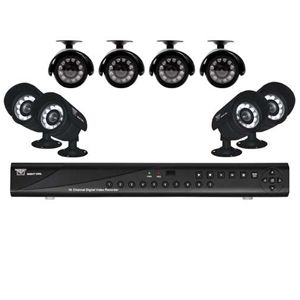 Night Owl 16-CH 500GB 8-Camera Security Kit