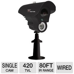 Night Owl Black Outdoor CCD Camera