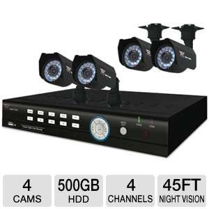 Night Owl 4BL-45GB-R-RB Video Security System