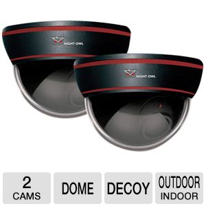 Night Owl 2 Decoy Dome Cameras