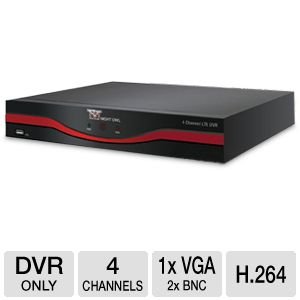 Night Owl 4 Channel LTE Full D1 DVR