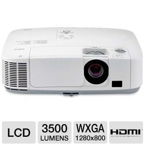 NEC P350W LCD Installation Projector
