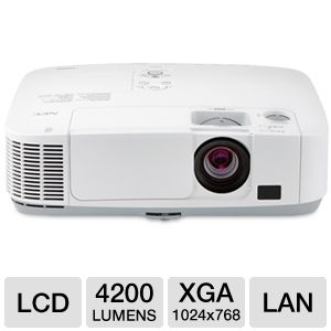 NEC P420X LCD Installation Projector
