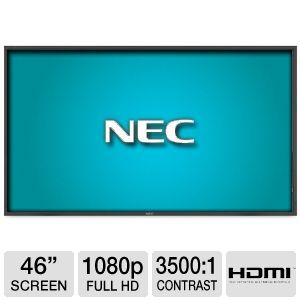 NEC 46&quot; Class 1920x1080 Large Screen LCD Monitor