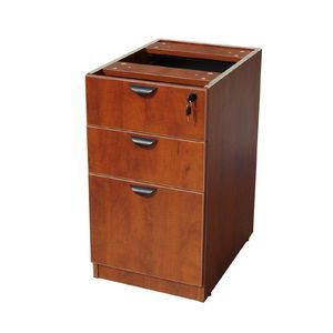 Boss Deluxe Pedestal-Full, Box/Box/File Cherry