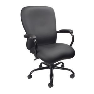 Big & Tall Executive Chair with Black Frame - Blac
